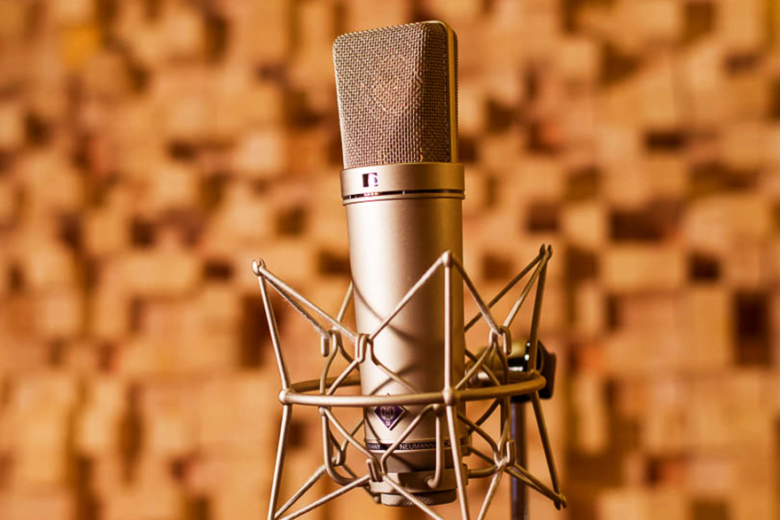 """Featured image for """"Neumann condenser microphone"""""""